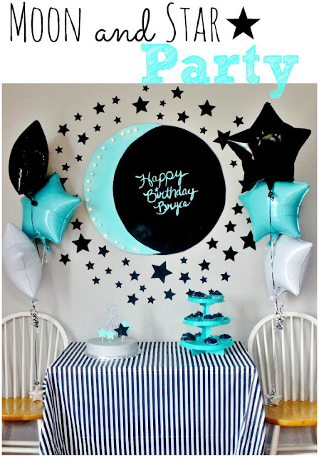 moon themed birthday party
