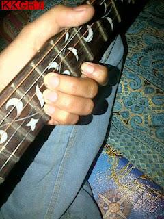 Gambar Kunci Gitar D#