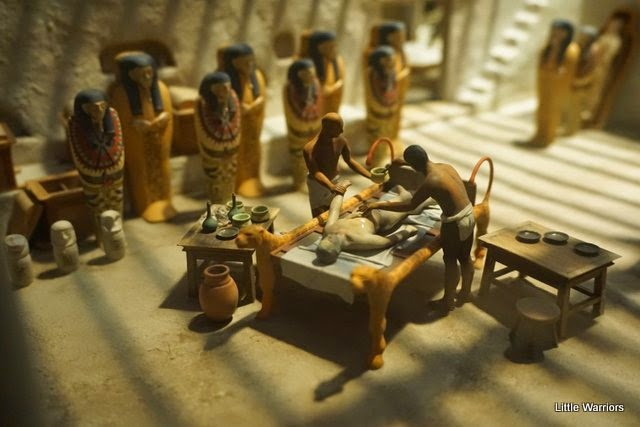 A report on the egyptian process of mummification