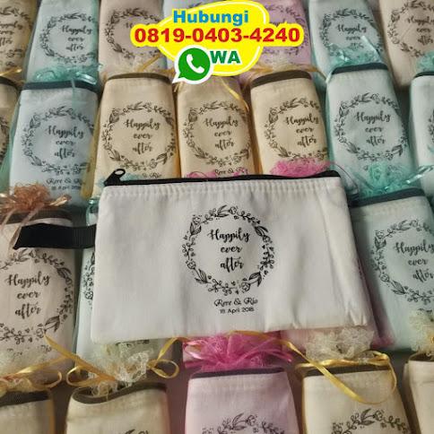 produsen Dompet atau Pouch Blacu Lapis Busa Murah Meriah ece
