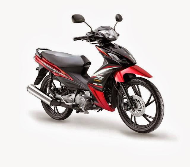 Suzuki Shogun AXELO 125 New Facelift - Warna Dan Grafik Baru Sensasi