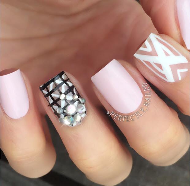 square shape manicures