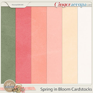 Creative Team, Annemarie, for JoCee Designs –- Spring in Bloom & 3 Coordinating Freebies