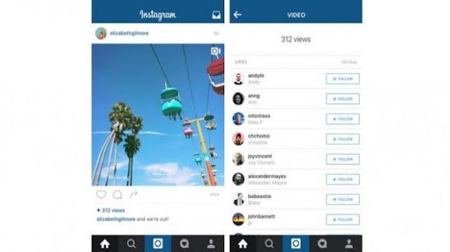 Video di Instagram Bisa Diketahui Jumlah Penontonnya Sama Seperti Path