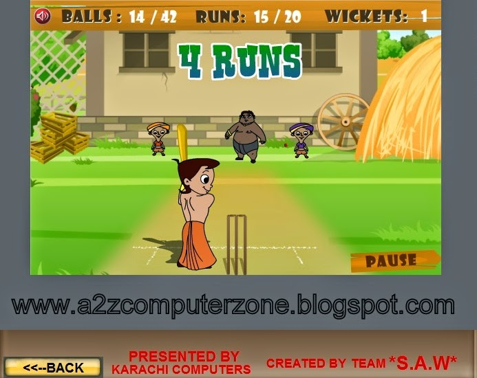 Choota Bheem Pc Game