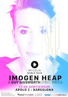 Concierto de Imogen Heap en Apolo 2