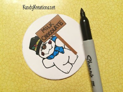 Personalized Snowmen STickers