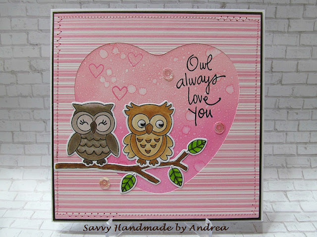 Owl always love you by Andrea features What a Hoot by Newton's Nook Designs; #newtonsnook