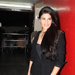 Jacqueline Fernandez Super Sexy Legs Show At The 'Race 2' Screening in PVR Cinema, Mumbai
