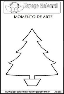 Desenho árvore de natal