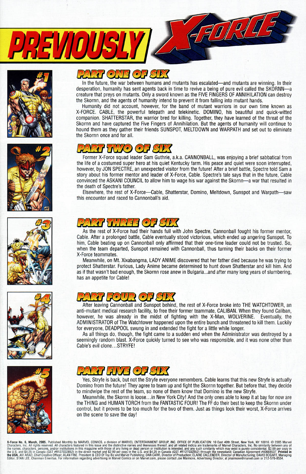 Read online X-Force (2004) comic -  Issue #6 - 3