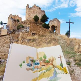 Ruinas del Castillo templario