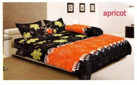 Sprei rainbow disperse aromateraphy apricot