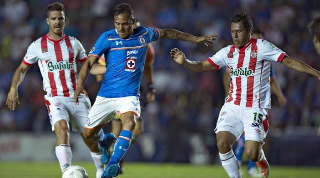 Necaxa vs Cruz Azul en vivo Apertura 2016