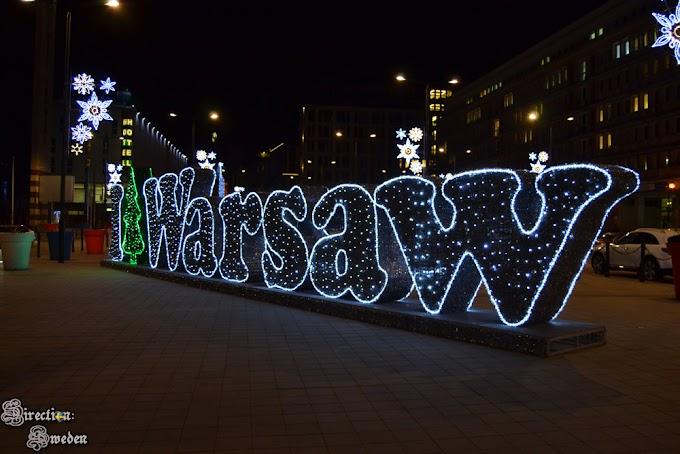 Jak turystka w świątecznej Warszawie