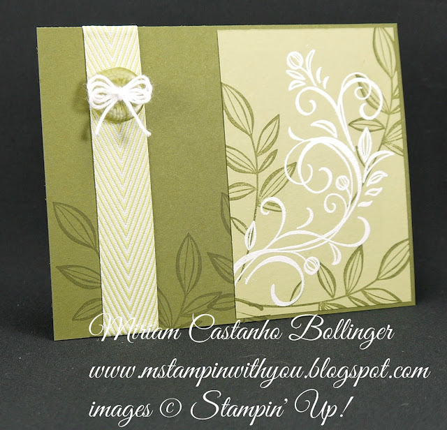 Miriam Castanho-Bollinger, #mstampinwithyou, stampin up, demosntrator, pp, all occasions card, falling flowers stamp set, heat embossing, su