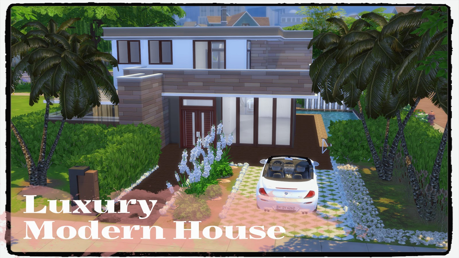 sims 4 luxury modern house build decoration for