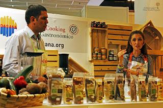 Showcooking organizado por El Oro de los Andes y Desafío saludable