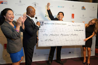 Wesley So vainqueur du Millionnaire Chess © Chess & Strategy