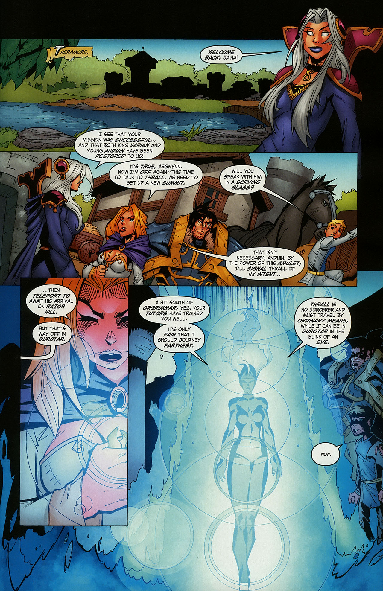 Read online World of Warcraft comic -  Issue #15 - 17