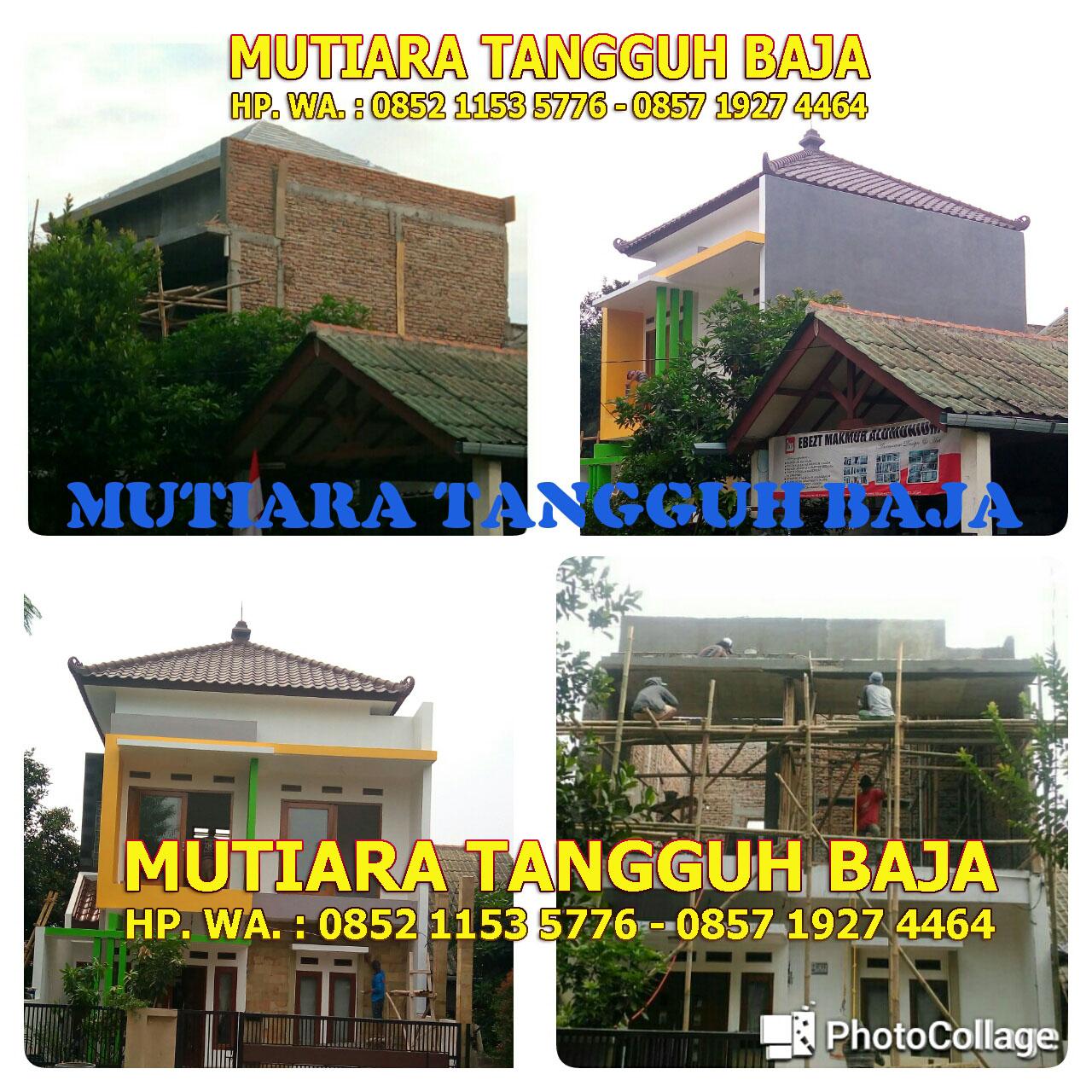Rangka Atap Baja Ringan Murah Jakarta Harga Pemasangan 2019 Cileungsi