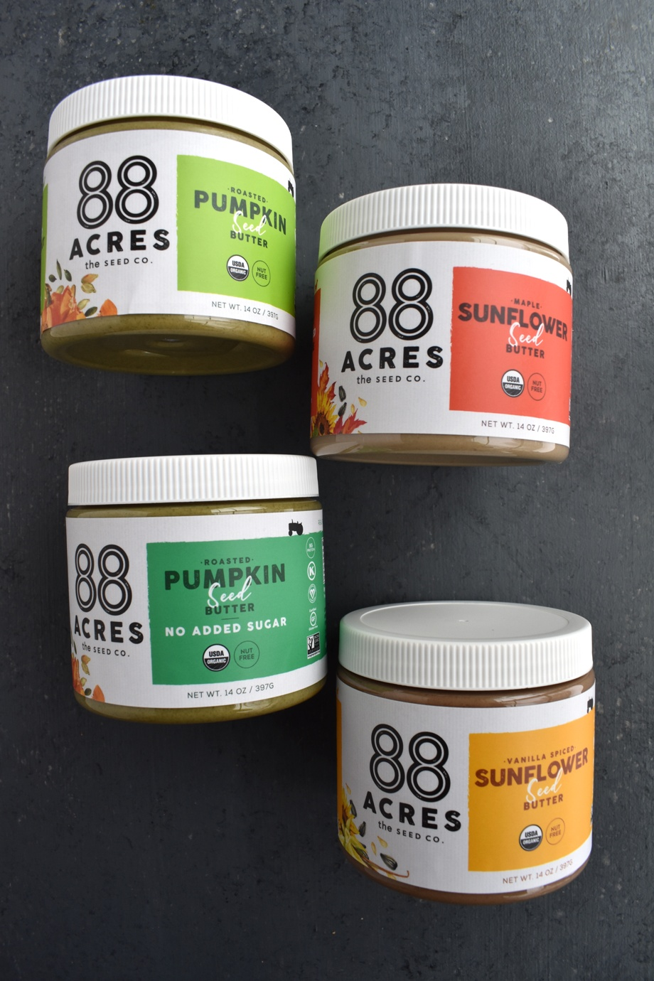 88 Acres Pumpkin and Sunflower Seed Butter