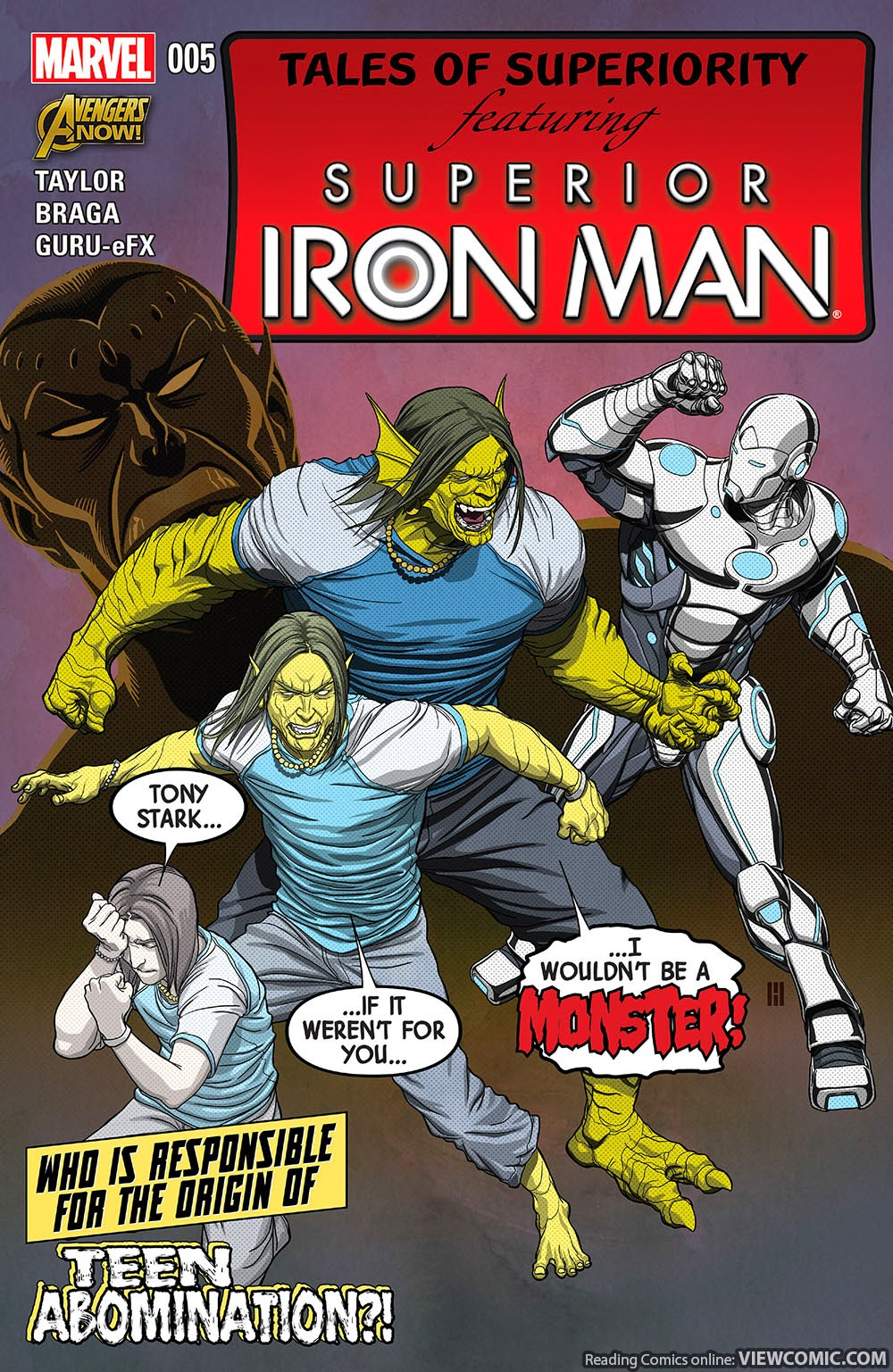 Superior Iron Man 005 (2015) …