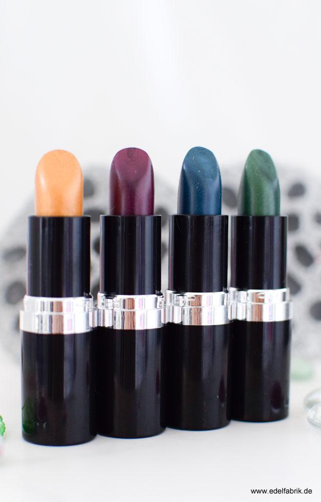 essence neues sortiment metal shock lipstick