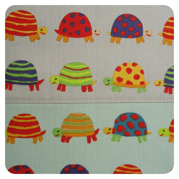 Fabric Land's colourful tortoise print