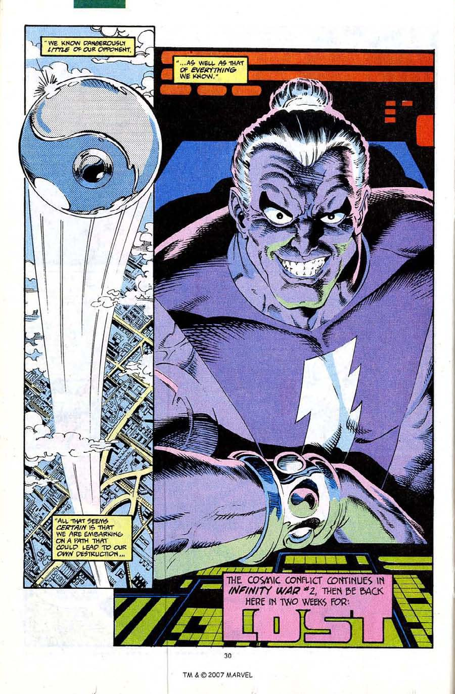 Read online Silver Surfer (1987) comic -  Issue #67 - 32