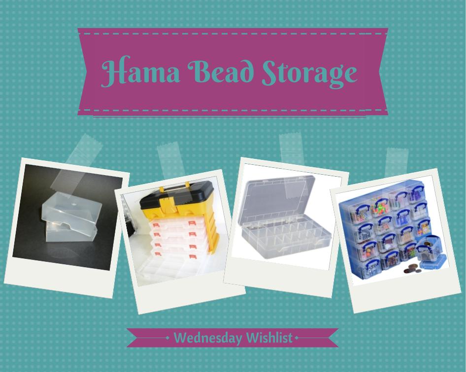 Hama Bead Storage (Wednesday Wishlist} | Boo Roo and Tigger Too