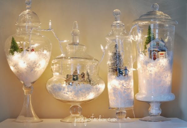 Christmas Terrariums from Pink Pistachio