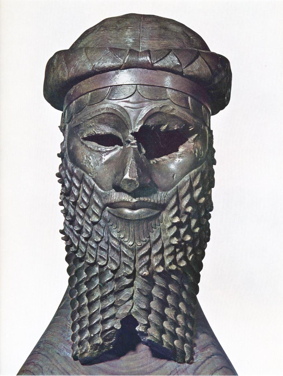 Head Of An Akkadian Ruler Lazy Glossophiliac: Re...