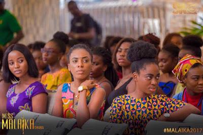 Photos : Miss Malaika Ghana 2017 Auditions Take Off