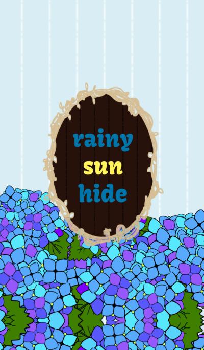 rainy sun hide