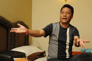Bimal Gurung in Gorkhaland Agitation