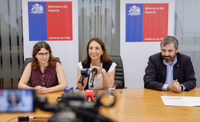 Sofía Rengifo, Cecilia Pérez y Andrés Otero