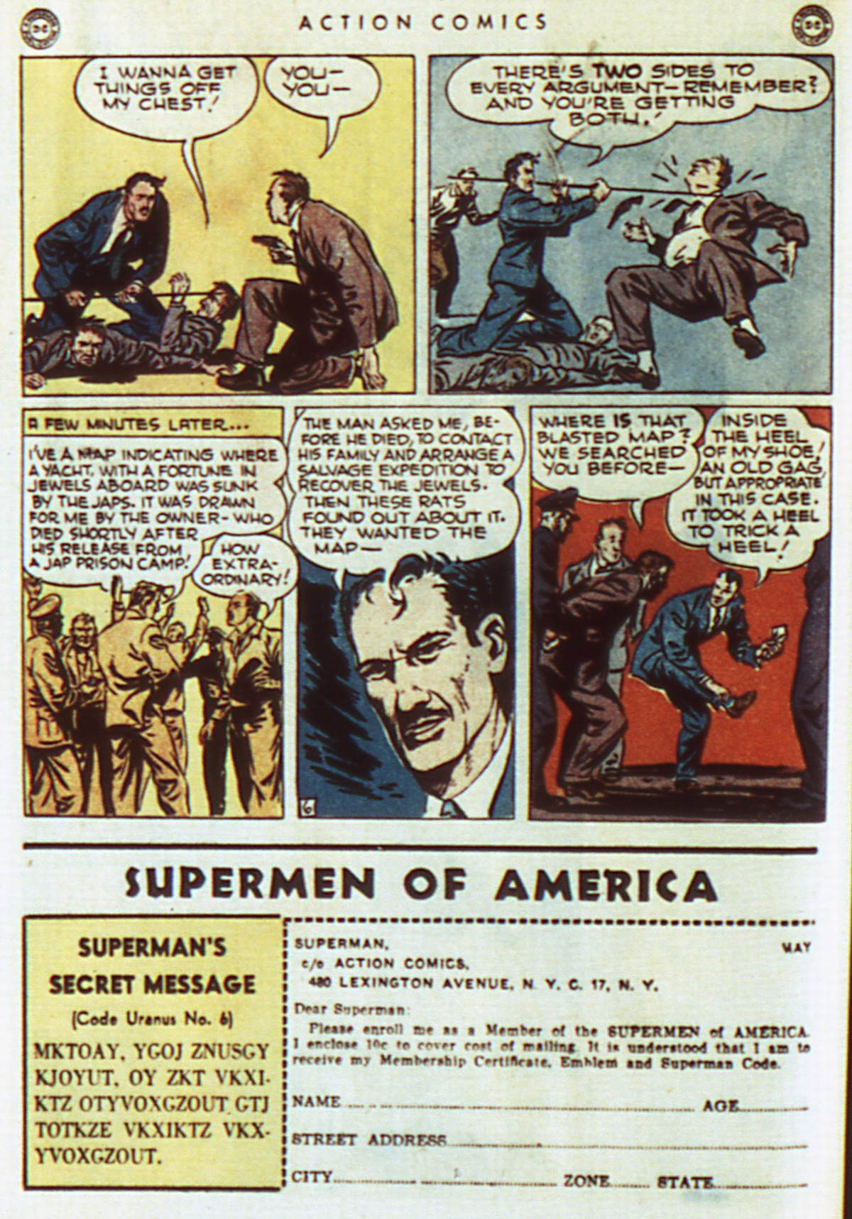 Read online Action Comics (1938) comic -  Issue #96 - 22