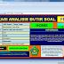 Aplikasi Analisis Butir Soal dengan Microsoft Excel Download Gratis