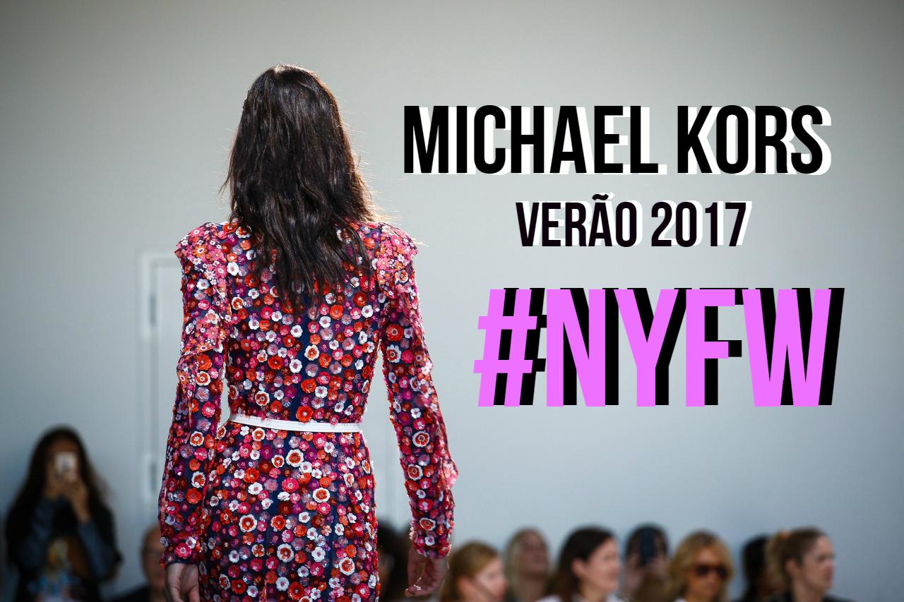 Um dos desfiles mais aguardado na semana de moda de NY é o da Michael Kors.  A marca sempre traz looks maravilhosos e apresenta muitas tendências que  podemos ... cfce02f8b1
