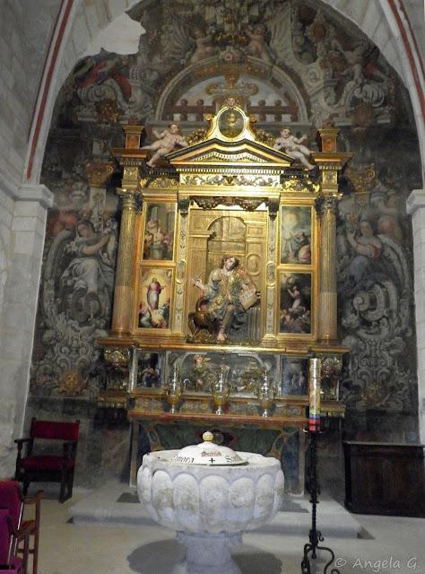 Retablo de la Capilla de San Juan Evangelista