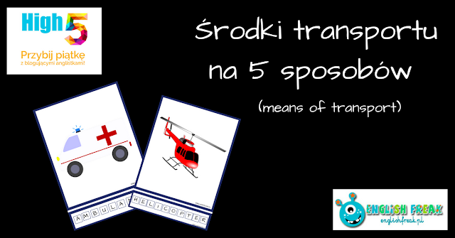 Środki transportu - means of transport