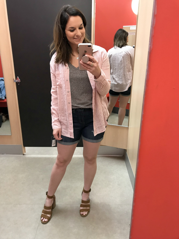 spring capsule wardrobe, target style, universal thread at target, style on a budget, mom style, north carolina blogger