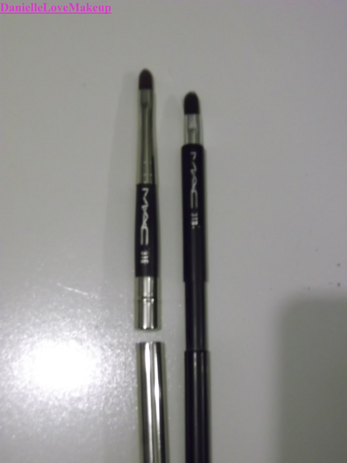 DanielleLoveMakeup: My Current MAC Brush Collection