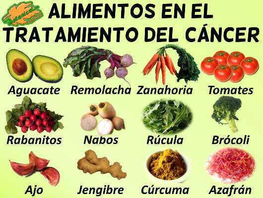 Mejores alimentos para prevenir el Cancer
