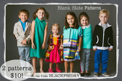 Blank Slate Patterns {Black Friday Sale}