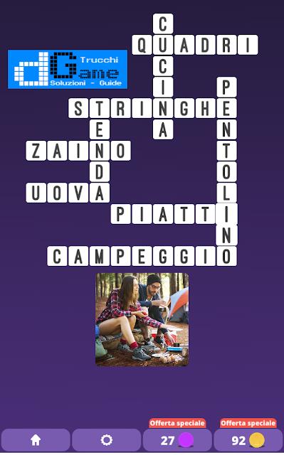 Soluzioni One Clue Crossword livello 23 schemi 3 (Cruciverba illustrato)  | Parole e foto