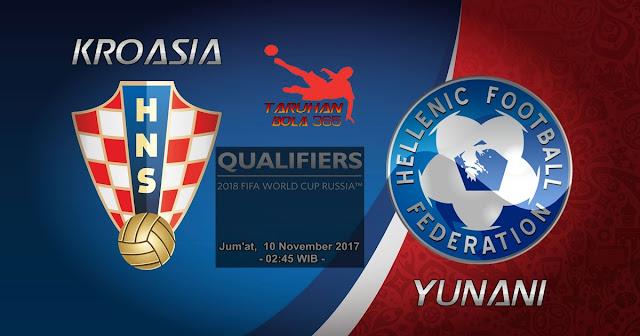 Prediksi Taruhan Bola 365 - Kroasia vs Yunani 10 November 2017