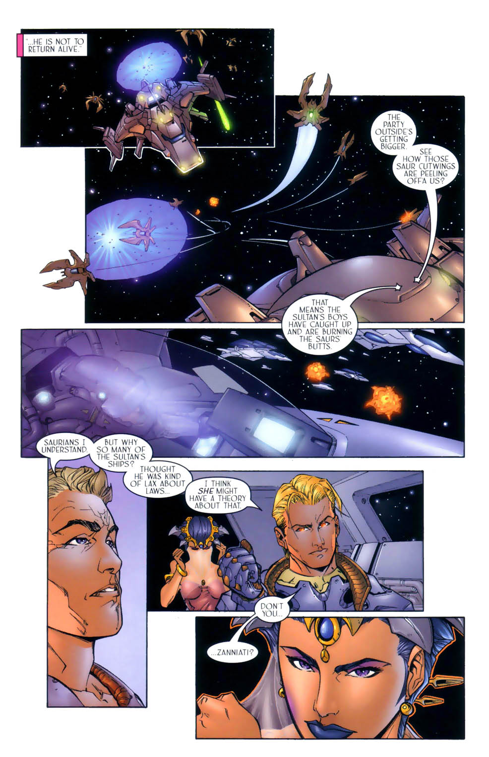 Read online Sigil (2000) comic -  Issue #3 - 9