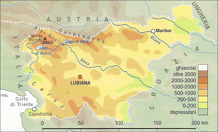 Slovenia Cartina Geografica Fisica.Chi Viaggia Impara Immagini Dal Mondo Slovenia